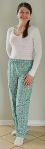 Maui Pants in Cotton Print