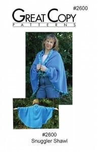 Snuggler Shawl Pattern Cover